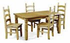 Mercers Furniture COR71/COR45x3 Corona Extending Pine Dinning Table with 6 Chairs