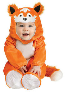 Image is loading BOYS-GIRLS-KIDS-TODDLER-BABY-FOX-CUB-FANCY-  sc 1 st  eBay & BOYS GIRLS KIDS TODDLER BABY FOX CUB FANCY DRESS UP COSTUME OUTFIT ...