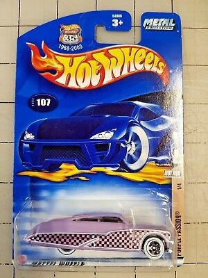 Hot Wheels Purple Passion 1//4 Hot Rod 2002 Collector #107