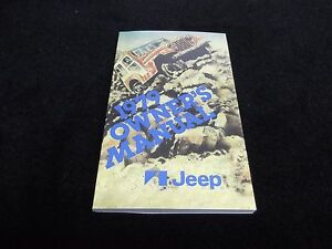 1979-Jeep-CJ-owner-039-s-manual