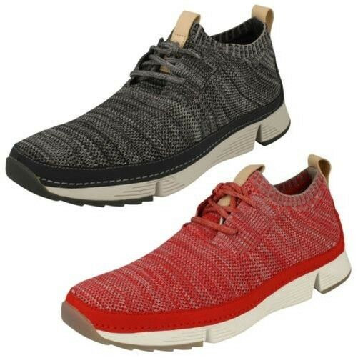 Mens Clarks Casual Lace Up Trainers Tri Native