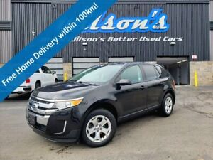 2013 Ford Edge SEL, Heated Seats, Keyless Entry, Rear Parking Sensors, Dual Climate Controls & More!