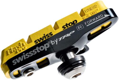 SwissStop Yellow King Compound Full FlashPro Pair of SRAM//Shimano Rim Brake S...