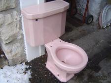VINTAGE 1950's ONE FLUSH American Standard 4058 F4058 toilet VENETIAN PINK
