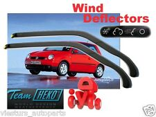 VW LUPO  1999 - 2005 3D Wind deflectors HEKO 31128