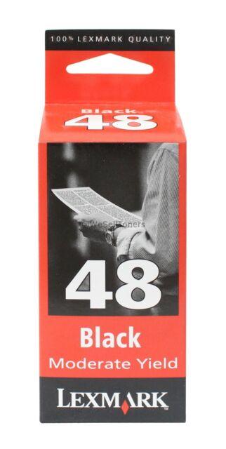 Lexmark 48 Black Ink Cartridge 17G0648 Genuine New