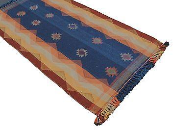 Kelim Jajim / Gjajim ca. 220 x110 Perser Teppich Überwurf Wandteppich Rug Tapis