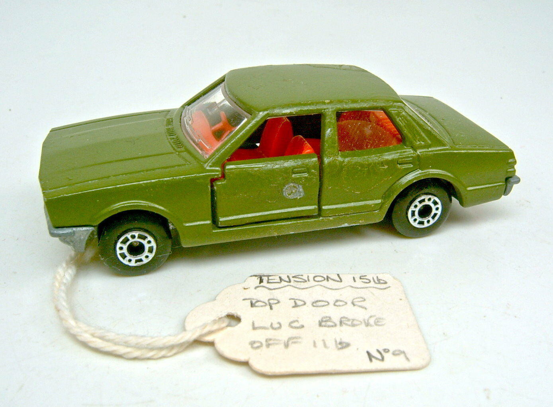 compra limitada Matchbox súperfast 55d Ford Cortina vorserienmodell en en en militar verde oliva  con 60% de descuento