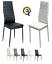 miniatura 1 - Set 4 sedia tavolo per sala da pranzo cucina eleganti moderne robusto ecopelle