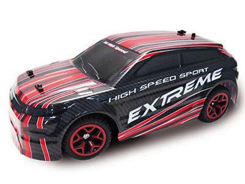 RC Rally Car AM-5 1 18 4WD proportionales Gas inkl Akku und Ladegerät rot