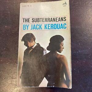 The Subterraneans by Jack Kerouac Vintage paperback book 1966 1st Zebra Edition