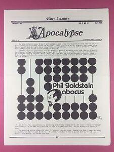 Soigneux Harry Lorayne's Apocalypse - Magiciens Newsletter Vol.3 / N°10 - 1980 - Magique
