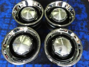 Set Of 4 Mopar Police Rally Wheel 15 Quot X 7 Quot Cuda Charger