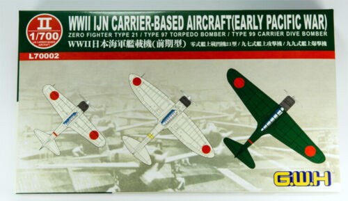 Great Wall Hobby L70002 1//48 WWII IJN Carrier-Based Aircraft Early Pacific War