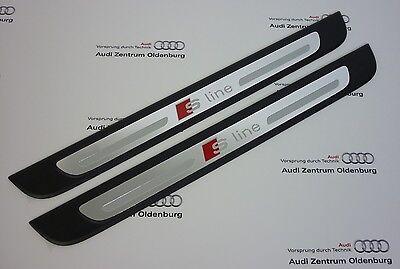 Audi Fare Iniziale A3, Set 2 Pezzi, Inserto Decorativo Alluminio S-Line, 2  Porte | eBay