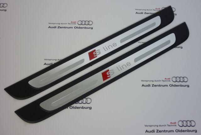 Audi Umbrales Audi A3, 2-teilig, Inserto Decorativo Aluminio Sline, 4-türig