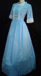 Pioneer-Dress-Old-Wild-West-Victorian-Prairie-Mormon-Trek-all-cotton