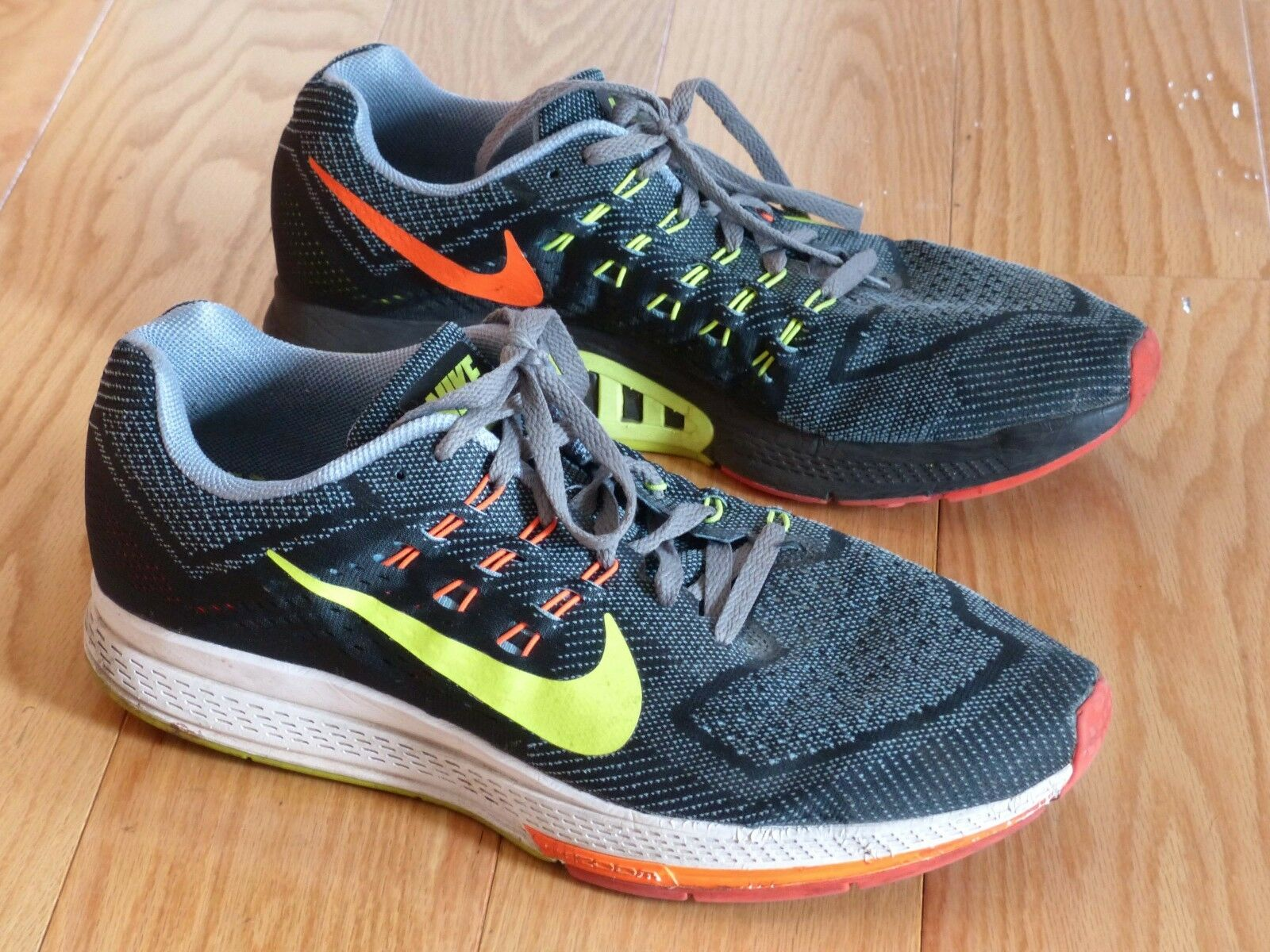 3e5ace83556 ... wholesale nike zoom structure 18 mas gris talla 14 el mas 18 popular de  zapatos para