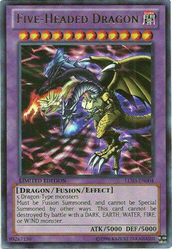 LC03-EN004 Five-Headed Dragon Ultra Rare NM