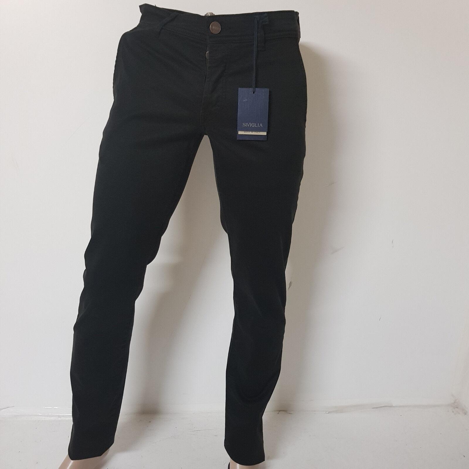 Pantalone Siviglia men   Pants men Art. -S - P024 U 1001 A-015  - Sconto - 60%