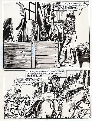 JULIANA BUCH : PAUVRE PUCK PLANCHE AREDIT SIGNEE PAGE 33