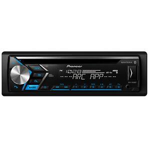Pioneer-CD-Bluetooth-Single-DIN-Receiver