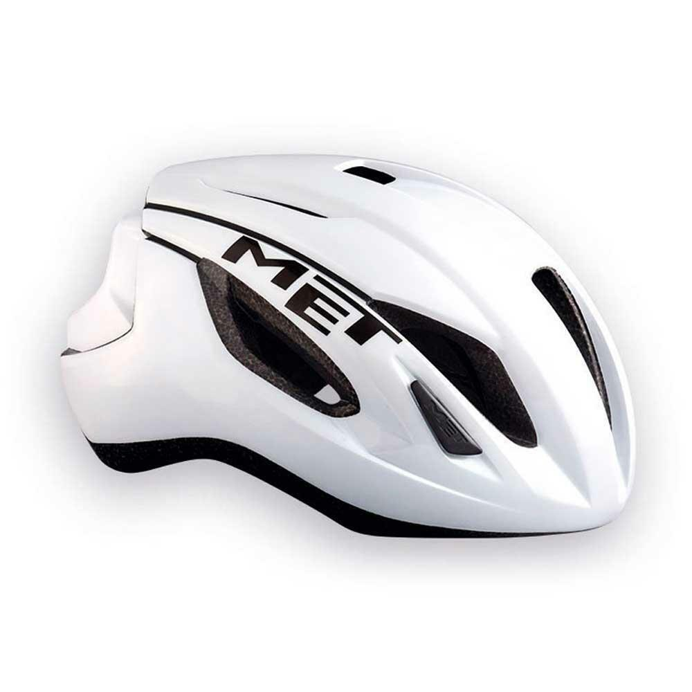 Road Bike Cycle Helmet MET Strale White