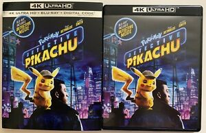 POKEMON-DETECTIVE-PIKACHU-4K-ULTRA-HD-BLU-RAY-2-DISC-SET-SLIPCOVER-SLEEVE-BUY