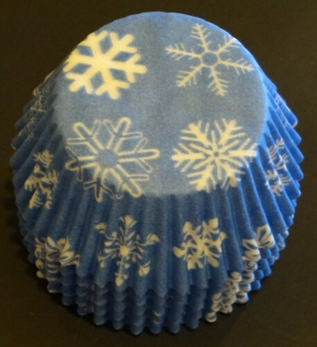 100 Snowflake Cupcake Liners FROZEN Movie Baking Cups STANDARD SIZE BC-16-100
