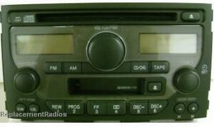Image Is Loading Honda Pilot 2003 2005 Cd Cette Radio 1tv3