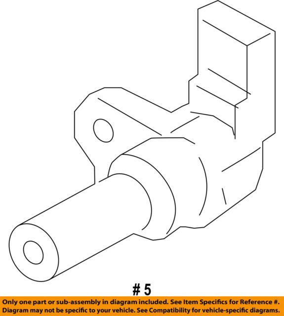 Genuine Ford Engine Camshaft Position Sensor AT4Z-6B288-A