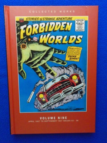 FORBIDDEN WORLDS COLLECTED WORKS VOL.9 HARDCOVER PS ARTBOOKS