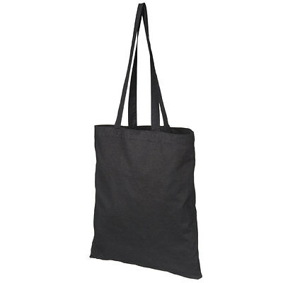 1 3 5 10 20 25 50 100 Cotton Eco seconds (CANVAS) 42x38 Tote Bags Lot BLACK