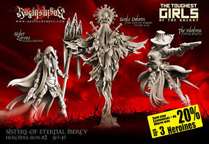 Raging Heroes Sisters of Eternal Mercy Heroines Box 2 (SF)