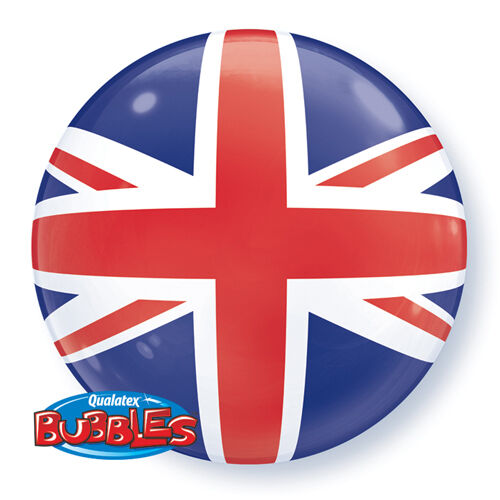Qualatex 22 bubble balloon union jack great britain ebay qualatex 22 bubble balloon union jack great britain gumiabroncs Gallery