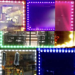 Image Is Loading Ledupdates Brightest Front Window Led Light Kit 12v