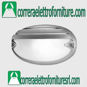 Plafoniera-vetro-parete-esterno-PRISMA-CHIP-OVALE-25-GRILL-grigio-E27-005708