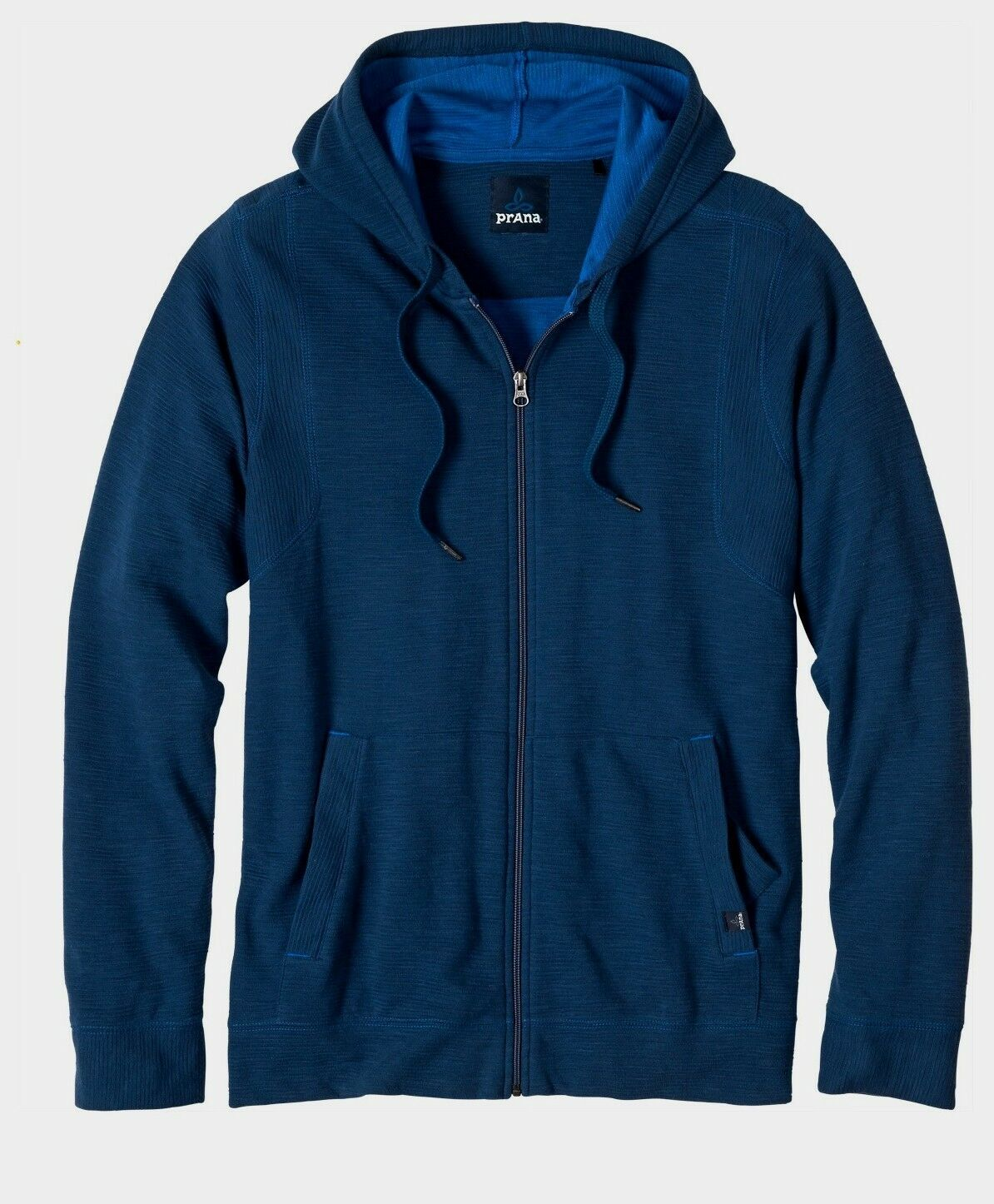 Prana Barringer Full Zip Hoodie Men's, Hoody for Men, bluee ridge