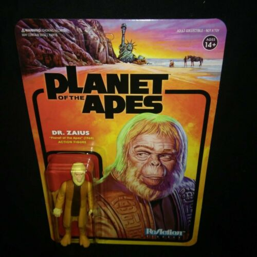 DOCTOR ZAIUS Planet of the Apes / 3.75 Action Figure - ReAction Super 7