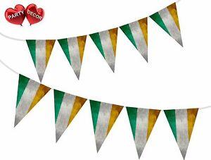 Vintage-drapeau-irlandais-Theme-Bunting-Banniere-elegant-Parti-Decoration-De-Fete-Decoration