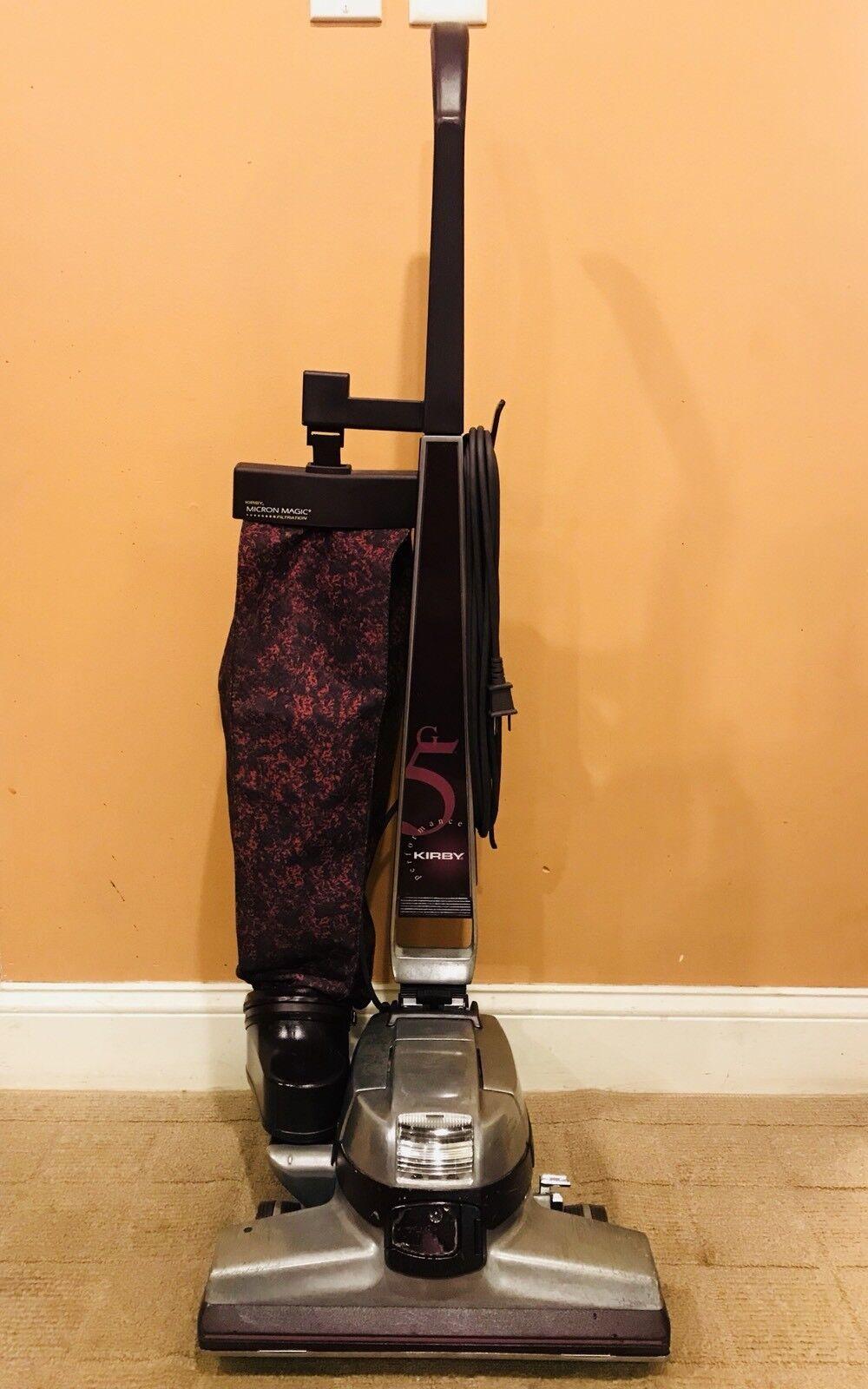 Kirby G5 Bagged Upright Vacuum Cleaner W  Carpet Shampooer