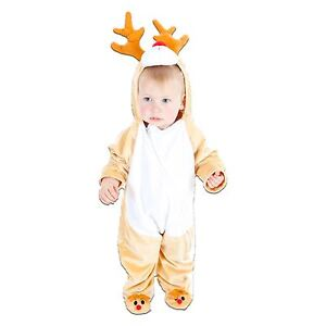 1645810dcd1d Image is loading BABY-TODDLER-GIRLS-BOYS-RUDOLPH-REINDEER-CHRISTMAS-ANIMAL-