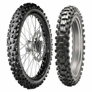 Gomme Dunlop Geomax mx53 110 90-19 62M TT per Moto