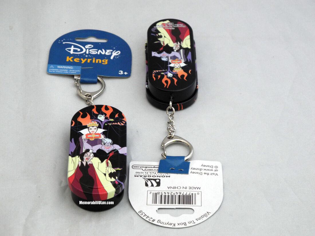 Disney Sleeping Beauty Maleficent Frame Villains Lenticular Keychain Key Ring