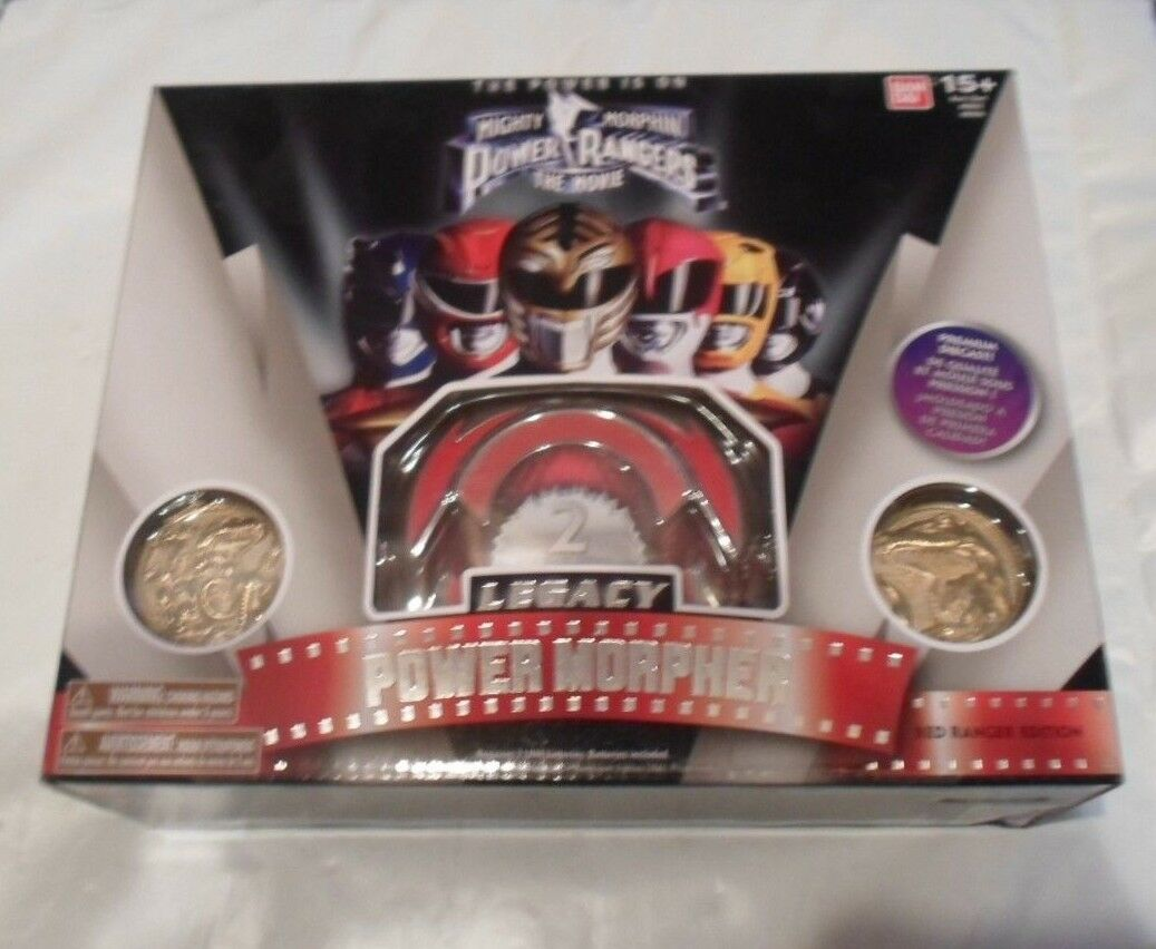 Mighty Morphin Power Rangers Legacy ROT Ranger Power Morpher Movie Edition