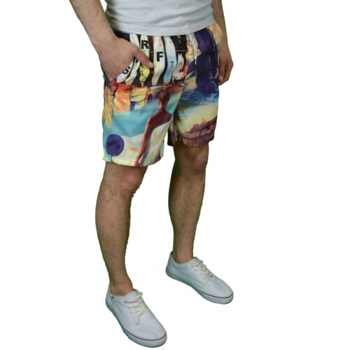 BNWT Soulstar Mens Designer Swim Shorts Available in USA /& Surf Print