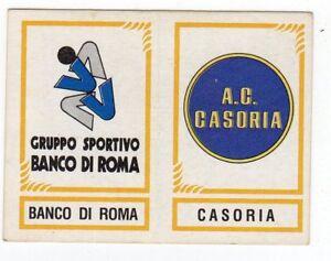 figurina CALCIATORI PANINI 1982/83 NEW numero 593 BANCO DI ROMA CASORIA - Italia - L'oggetto può essere restituito - Italia