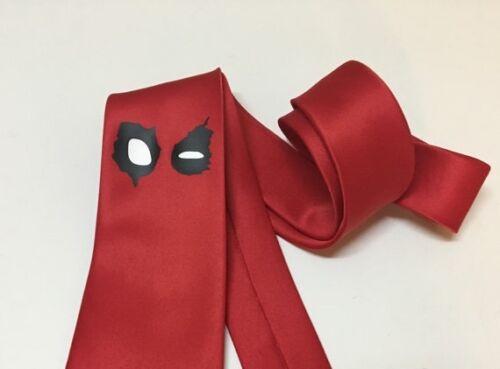New Deadpool Superheroe Cool Tie