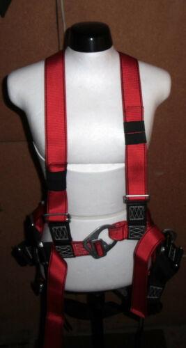 Auffanggurt mas 60 + rescate de cuerda con polea auffanggerät/bandfalldämper