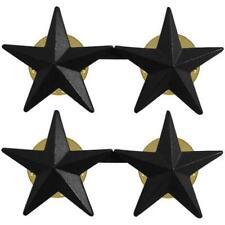 USAF Air Force Officer Stars Black Metal  NEW  (USAF Issue)